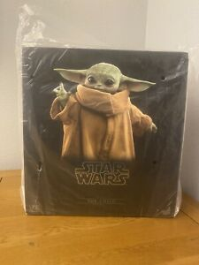 Hot Toys The Child Grogu Life Size Figure Star Wars The Mandalorian In Stock