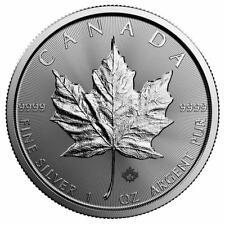 Kanada - 5 Dollar 2019 - Maple Leaf - Anlagemünze - 1 Oz Silber ST