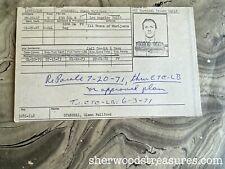 TERMINAL ISLAND 1967 TRANSPORTING MARIJUANA SENTENCE DATA SUMMARY CARD POT