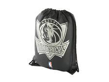 Dallas Mavericks Fan Gymbag NBA Turnbeutel schwarz Sportbeutel 45x35cm