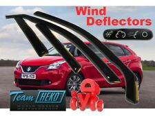 SUZUKI BALENO 2016 - 5.doors Wind deflectors 4.pc HEKO 28652