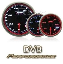 Prosport 60mm Oil Temperature Gauge Smoked Stepper WRC Style