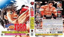 ANIME DVD HAJIME NO IPPO Sea 1&3 Vol.1-127 End + Movie + OVA Eng Subs +FREE DVD