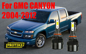 LED for CANYON 2004-2012 Headlight Kit 9006 HB4 6000K White CREE Bulbs Low Beam
