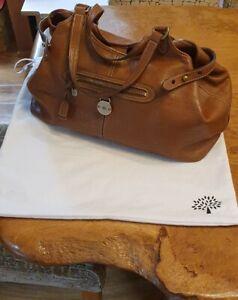 Handbag -  English Oak / Tan with dustbag