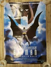 BATMAN Mask of the Phantasm movie   Batman the animated series 2 sided AS IS