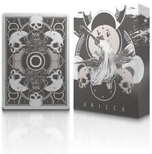 Anicca Bicycle Metallic ink Silver Playing Cards by Card Experiment Aristocrat