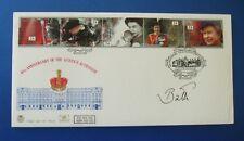 1992 QUEEN'S adesione primo giorno di copertina firmata dall' marquess of Bath