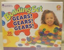 Building Set - Gears Gears Gears Learning Resources 95 Pcs (Brand New)