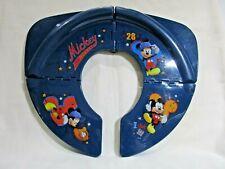 Disney Mickey Mouse All Star Travel/Folding Potty Seat Blue