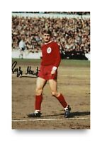 Roger Hunt Signed 6x4 Photo Liverpool England Genuine Autograph Memorabilia +COA