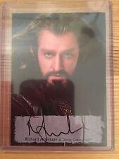 The Hobbit Battle Five Armies Poster Autograph Richard Armitage as Thorin RA-P