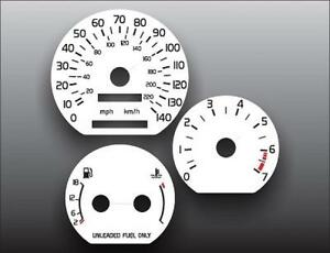 1994-1997 Volvo 850 Non Turbo Dash Cluster White Face Gauges 94-97