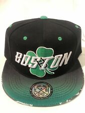 Boston New Leader Skyline Bridge 3 Celtics Color Green Era Snapback Hat Cap