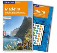REISEFÜHRER Madeira 2015/16+ Landkarte~ POLYGLOTT, wie neu, ungelesen, PORTOFREI