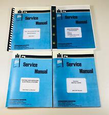 SET INTERNATIONAL 4166 TRACTOR SERVICE REPAIR MANUAL SHOP BOOK OVHL