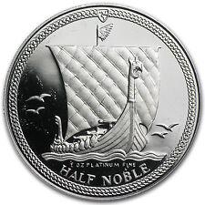 Isle of Man 1/2 oz Platinum Noble Proof - SKU #44686