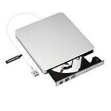 Graveur Lecteur DVD CD Externe MacBook Pro Air PC Windows Mac OS USB 3.0 Compact