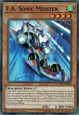 3x YuGiOh COTD-EN086 F.A. Sonic Meister Common Unlimited Card