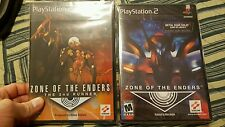 Zone of The Enders and the 2nd RUNNER. BOTH NEW PS2 GAMES. FACTORY SEAL usa