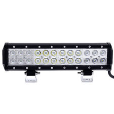 12INCH 72W LED Work Light Bar Spot Flood Combo for Offroad JEEP SUV UTE