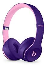 Genuine Beats Dr. Dre Solo3 Pop Collection Wireless On Ear Headphones Pop Violet
