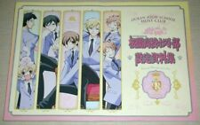 Ouran High School Host Club Settei Sketch Art Book OOP Setting Anime