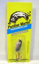 Panther Martin 1/8oz Rainbow Trout Holographic Spinner Fishing Lure w/Red Hook