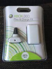 Spiel- und Ladekit - Weiß (Xbox 360, 2005)