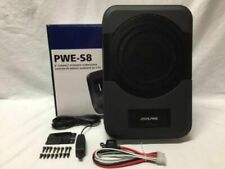 "New listing Alpine Pwe-S8 Compact 120-watt powered 8"" subwoofer New Alpine Pwes8"