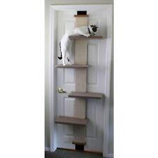 NEW Door Climb Step Cat Scratch Play Mount Hang Sisal  Pet Exercise Compact Tree