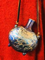 Vintage Australian Art Glass-signed Chuck Simpson-1987
