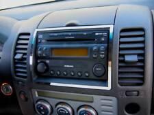 D Nissan Navara D40 Pathfinder Chrom Rahmen für Radio - Edelstahl poliert