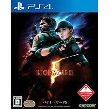 Biohazard 5 SONY PS4 PLAYSTATION 4 JAPANESE NEW JAPANZON
