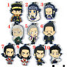 Anime GOLDEN KAMUY Rubber Keychain Key Ring straps cosplay