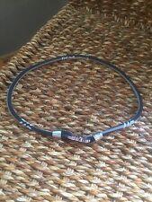 Black Phiten X50 Titanium Necklace 50cm 19 Inches