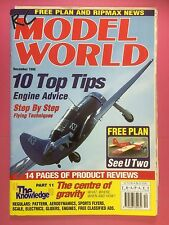 RC Model World - Radio Controlled Aircraft, December 1998 - Free Plan See U Two