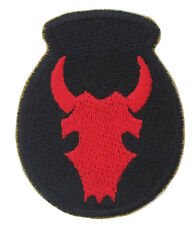 US 34th Infantry Division - American WW2 Repro Military Army Badge Patch Bull