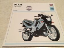 Carte motorrad Triumph 1200 Trophy 4 1993 collection Atlas motorbike UK