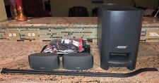 Bose CineMate GS Series II Digital Home Theater 2.1 System w 3ft Speaker Stands