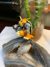 "RARE Digimon Zudomon 2.25"" Tall Action Figure with Chopping Action Bandai 1999"