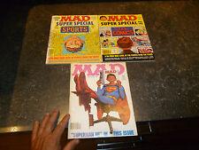 MAD Super Spécial & Superman : Periodiques Américains en Anglais