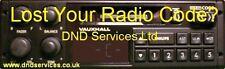 Vauxhall Radio Code Decode Unlock by Serial Number - DC 670   DC670  681  DC681