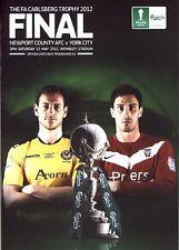 FA Trophy Final 2012 Newport County v York City