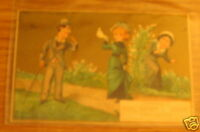 ANTIQUE ADVERTISING CARD 1800 HOGG BROWN & TAYLOR DRY GOODS BOSTON