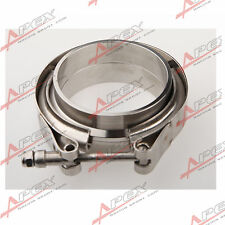 "Downpipe Intercooler Turbo 3"" V-Band Clamp & Flange Kit Mild Steel V Band Flange"