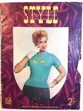 Vintage 40's 50's Patons Style knit pattern cardigans, tops,boleros, jumper