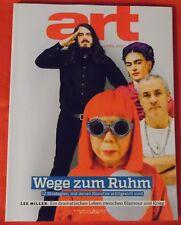 art Das Kunstmagazin 2015 Nr  4 , Wege zum Ruhm Lee Miller Tatzu Nishi Katharina