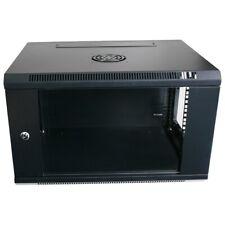 "4ru 19 Inch 450mm Deep Wall Mount Cabinet Server Rack Data Network Comms 4u 19"""