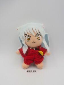 """Inuyasha B2308 Bandai 2001 Mascot Strap 4"""" Plush Stuffed Toy Doll Japan"""